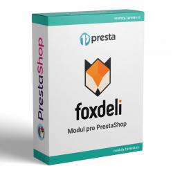 Foxdeli konektor modul Prestashop - Trial verze
